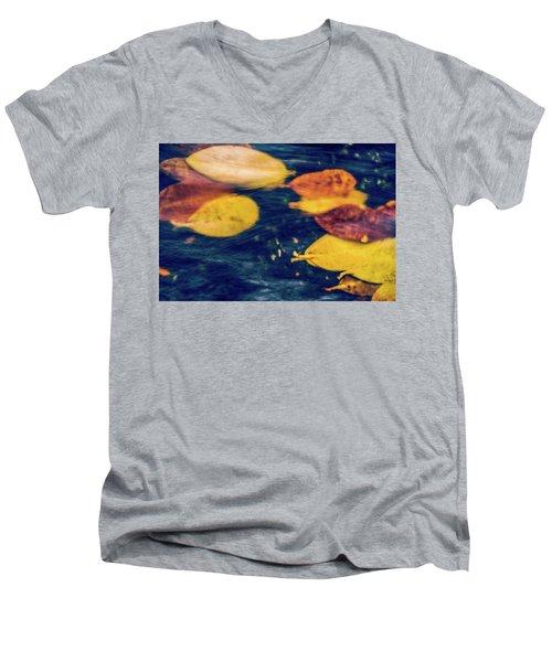 Underwater Colors Men's V-Neck T-Shirt