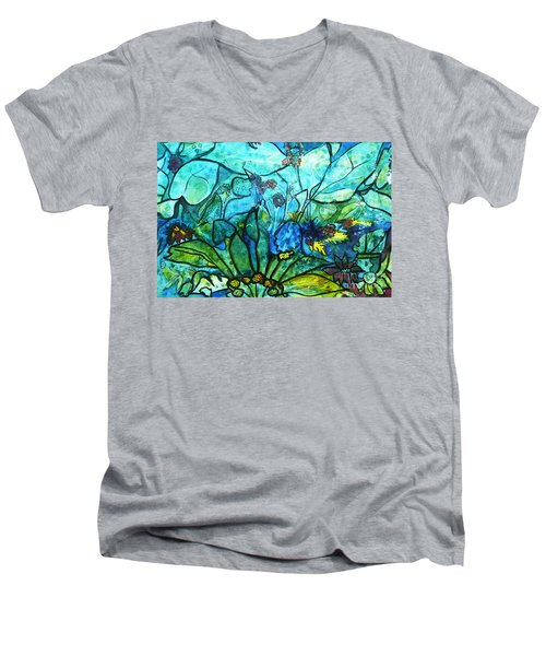 Underwater Fantasy Men's V-Neck T-Shirt