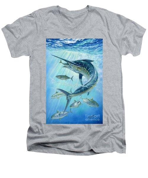 Underwater Hunting Men's V-Neck T-Shirt
