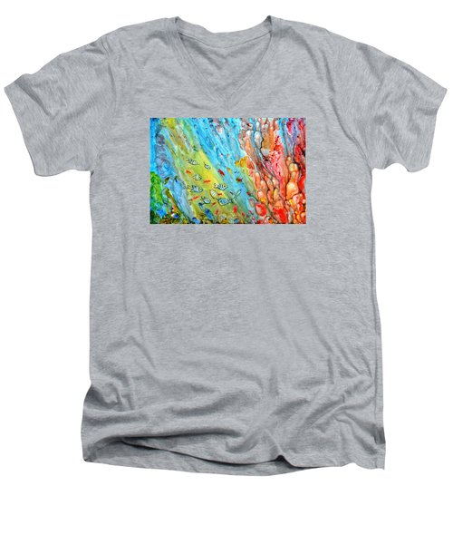 Underwater Magic Series 4 Men's V-Neck T-Shirt