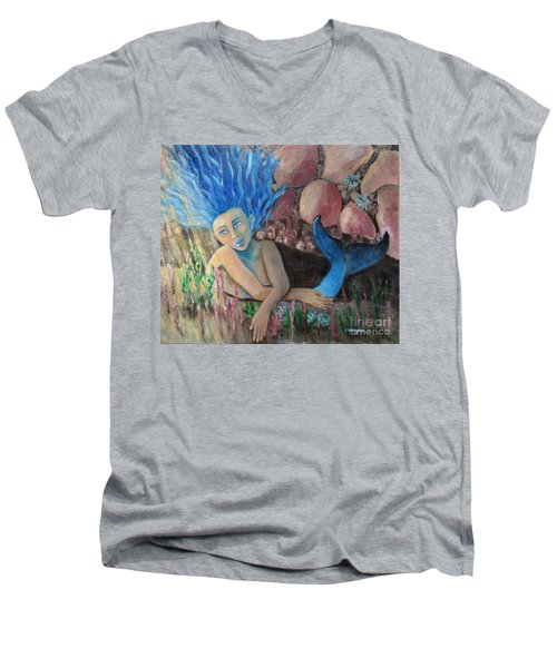 Underwater Wondering Men's V-Neck T-Shirt