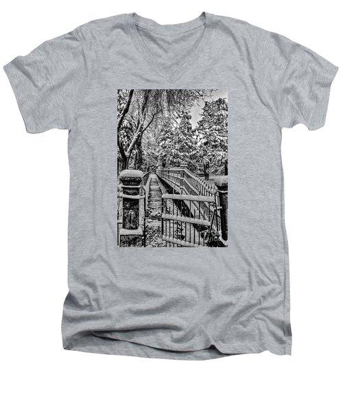 Undisturbed Men's V-Neck T-Shirt