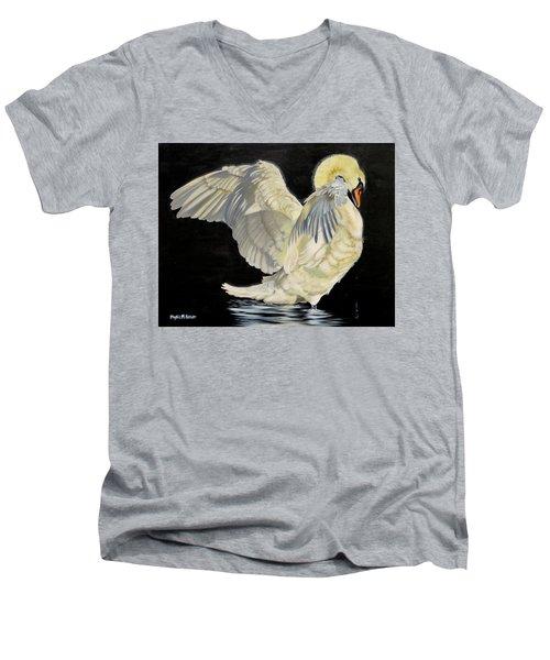 Unfolding Drama Men's V-Neck T-Shirt