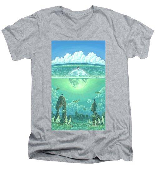 Unforeseeable Future Men's V-Neck T-Shirt