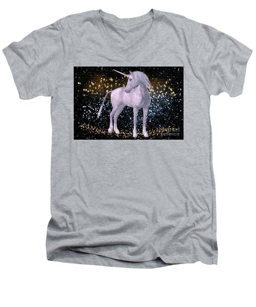 Unicorn Dust Men's V-Neck T-Shirt