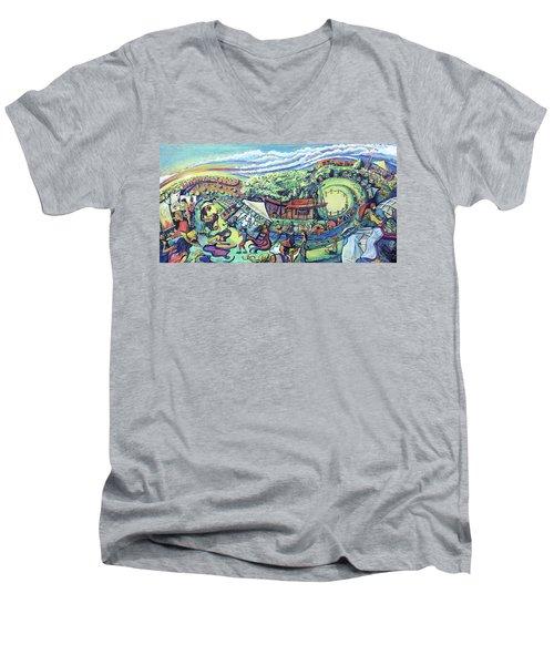 Unify Fest 2017 Men's V-Neck T-Shirt