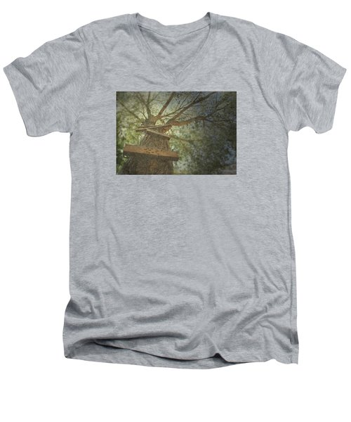 Unincorporated  Men's V-Neck T-Shirt by Mark Ross