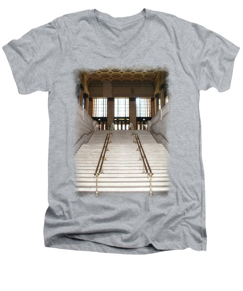 Union Street Station Men's V-Neck T-Shirt