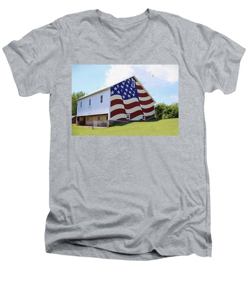 United I Stand Men's V-Neck T-Shirt