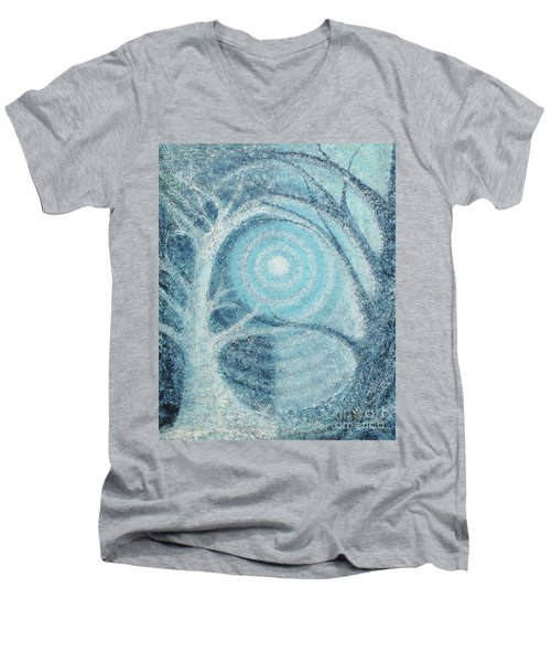 Unity Men's V-Neck T-Shirt by Holly Carmichael
