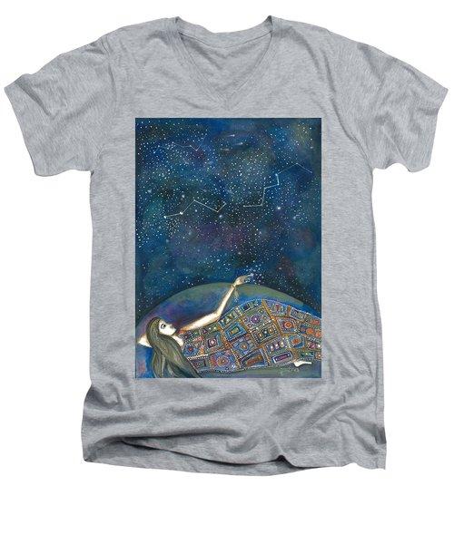 Universal Magic Men's V-Neck T-Shirt