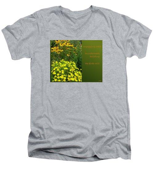 Unpegging Wash Haiga Men's V-Neck T-Shirt