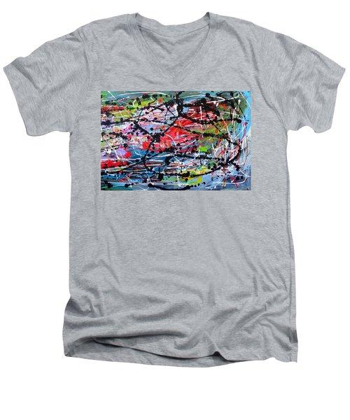 Unseen 2 Of 2 Men's V-Neck T-Shirt