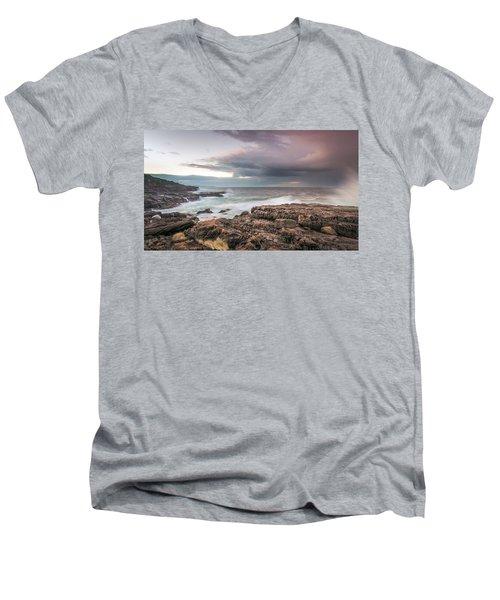 Untamed Coast Men's V-Neck T-Shirt