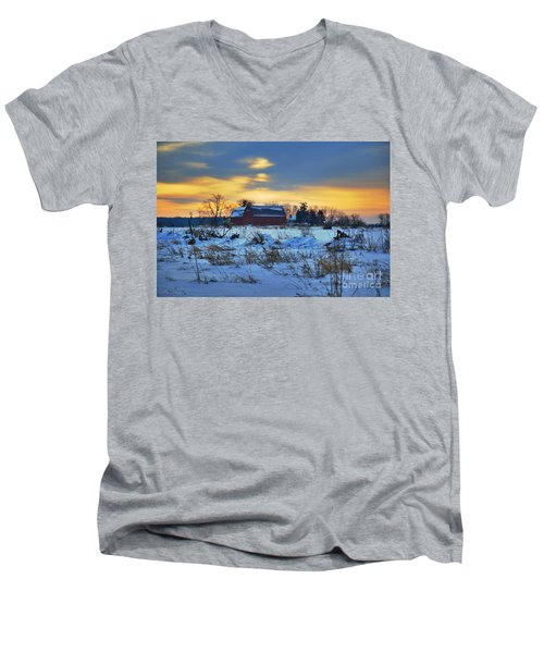 Until Spring Men's V-Neck T-Shirt