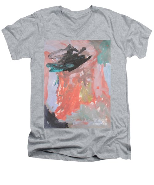 Untitled #11  Original Painting Men's V-Neck T-Shirt