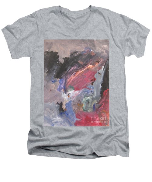 Untitled #6  Original Painting Men's V-Neck T-Shirt