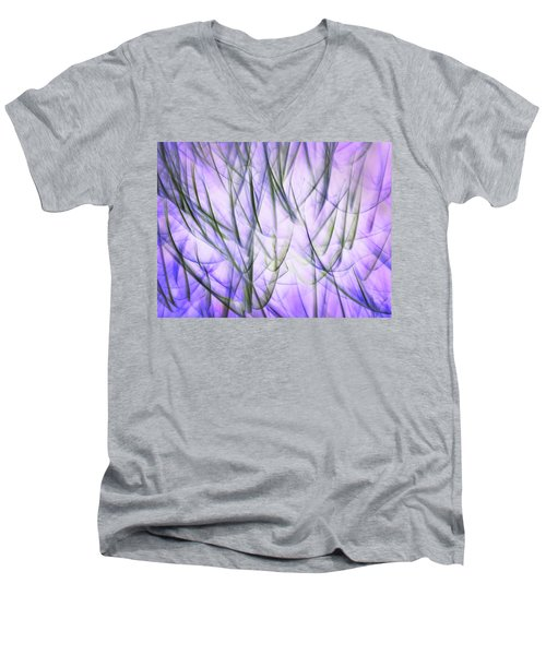 Untitled #8080224, From The Soul Searching Series Men's V-Neck T-Shirt