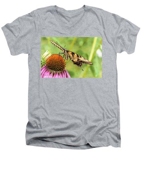 Untitled Butterfly Men's V-Neck T-Shirt