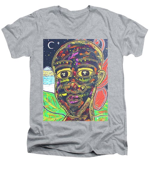 Untitled II Men's V-Neck T-Shirt