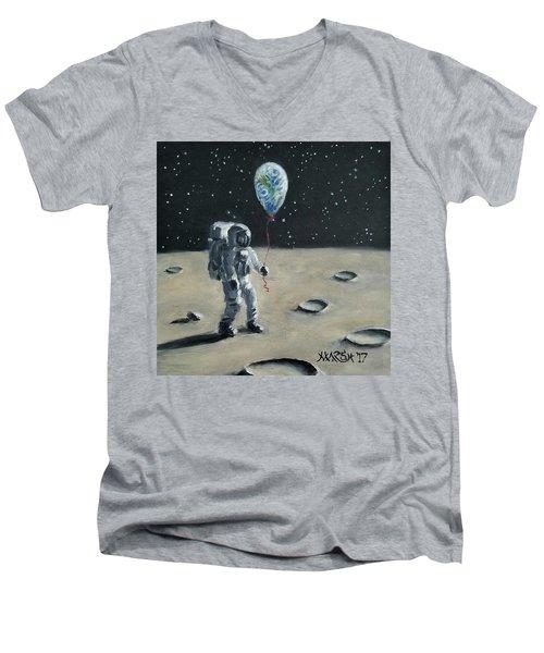 Don't Let Go Men's V-Neck T-Shirt