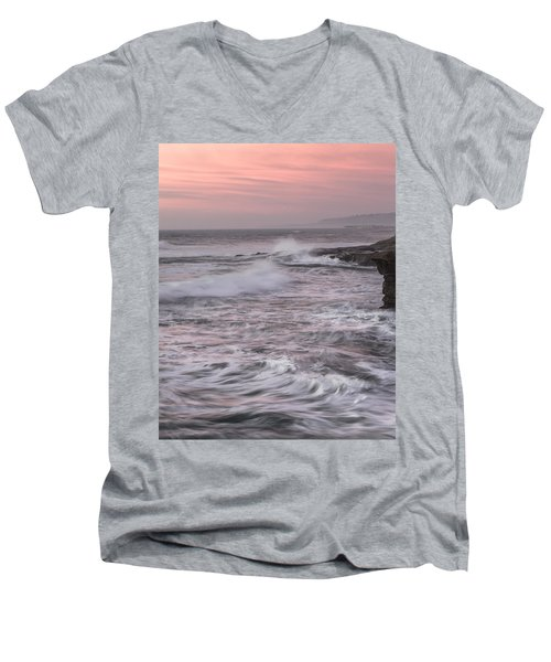 Men's V-Neck T-Shirt featuring the photograph Untitled by Ryan Weddle