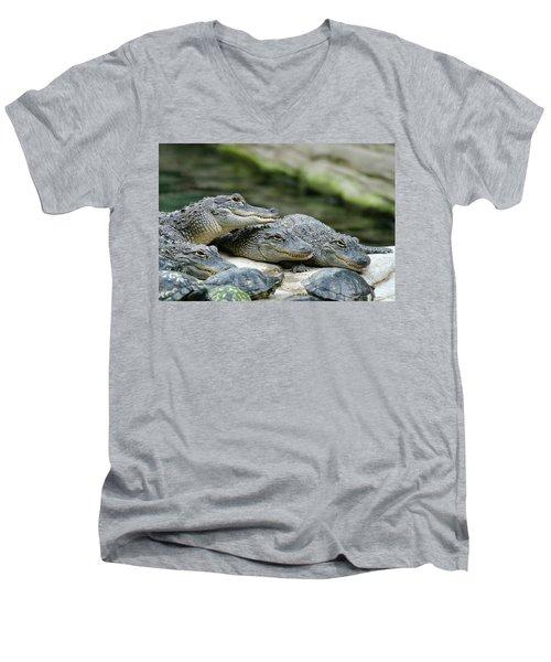 Up To No Good Men's V-Neck T-Shirt