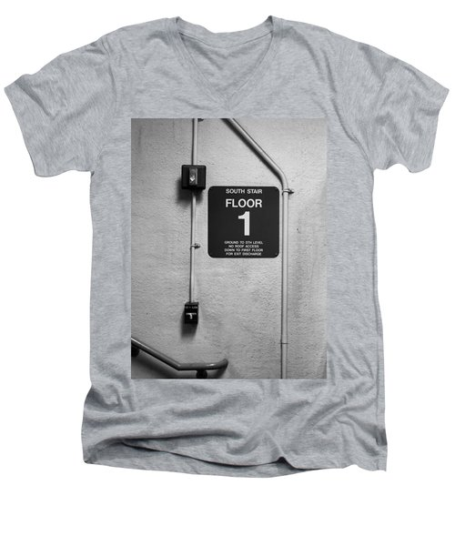 Up To One Men's V-Neck T-Shirt
