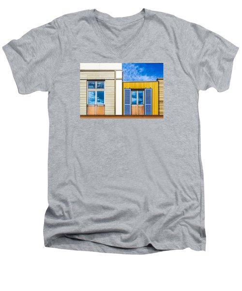 Up Town Men's V-Neck T-Shirt