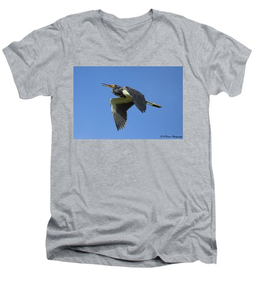 Up Up And Away Men's V-Neck T-Shirt