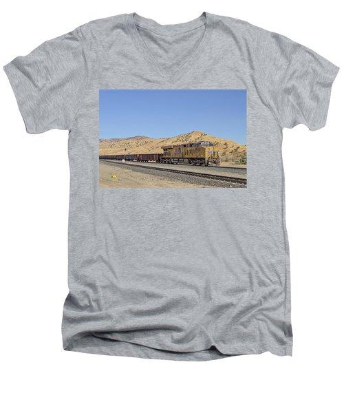 Up8053 Men's V-Neck T-Shirt