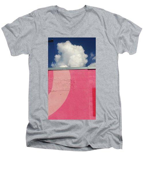 Upload Men's V-Neck T-Shirt