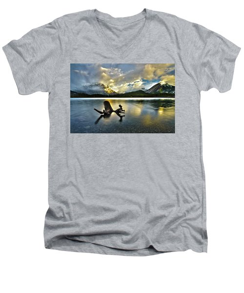 Upper Kananaskis Men's V-Neck T-Shirt
