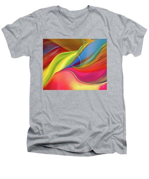 Upside Down Inside Out Men's V-Neck T-Shirt