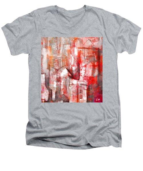 Urban #10 Men's V-Neck T-Shirt by Kim Gauge