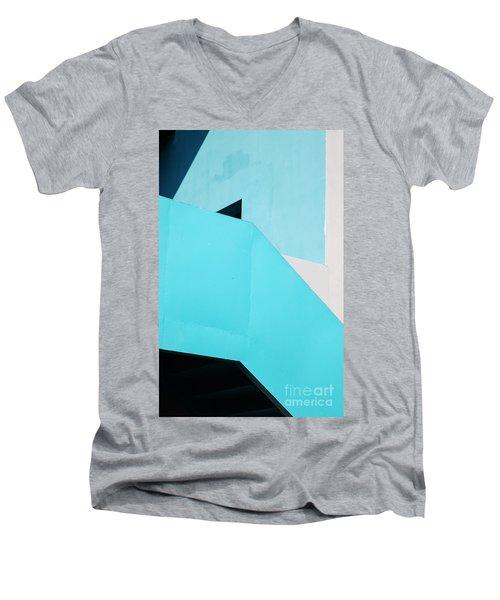 Urban Abstract 2 Men's V-Neck T-Shirt