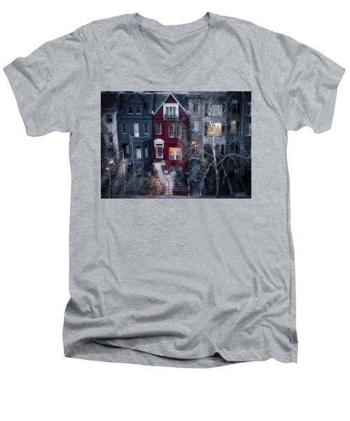 Urban Morning Men's V-Neck T-Shirt