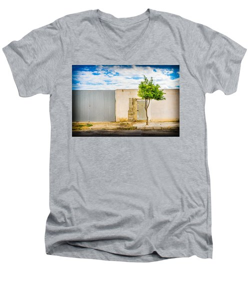 Urban Tree. Men's V-Neck T-Shirt
