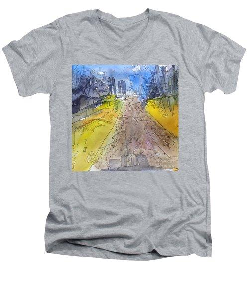 Ursa Major Men's V-Neck T-Shirt by A K Dayton