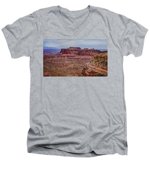 Utah Canyon Country Men's V-Neck T-Shirt