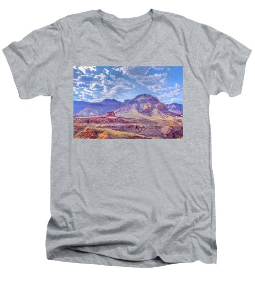 Utah Revisited Men's V-Neck T-Shirt by Mark Dunton