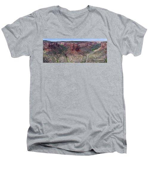 Ute Canyon Men's V-Neck T-Shirt