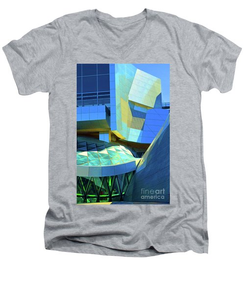 Utzon Center In Aalborg Denmark Men's V-Neck T-Shirt