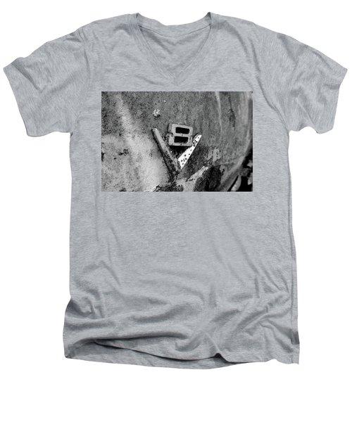 V8 Emblem Men's V-Neck T-Shirt