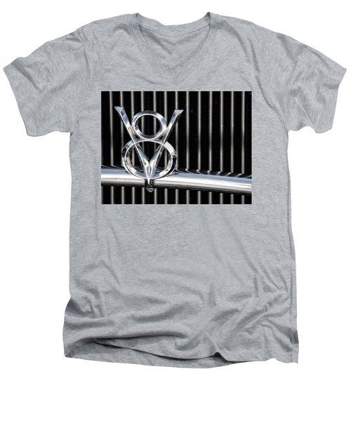 V8 Men's V-Neck T-Shirt