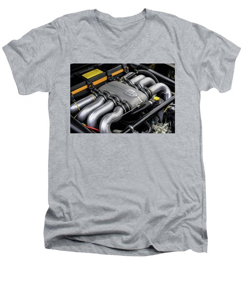 V8 Porsche Men's V-Neck T-Shirt