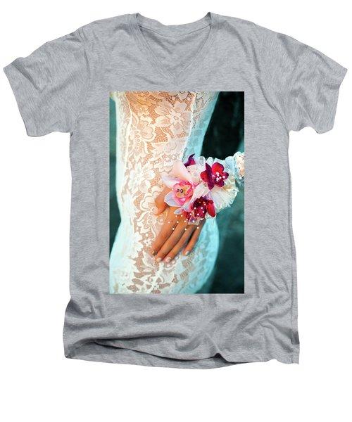 Valanquar Men's V-Neck T-Shirt by Marius Sipa