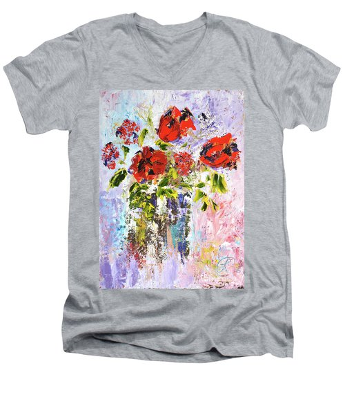 Valentine Men's V-Neck T-Shirt