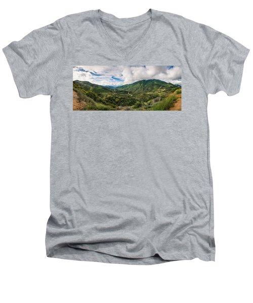 Valley Of Promise Men's V-Neck T-Shirt
