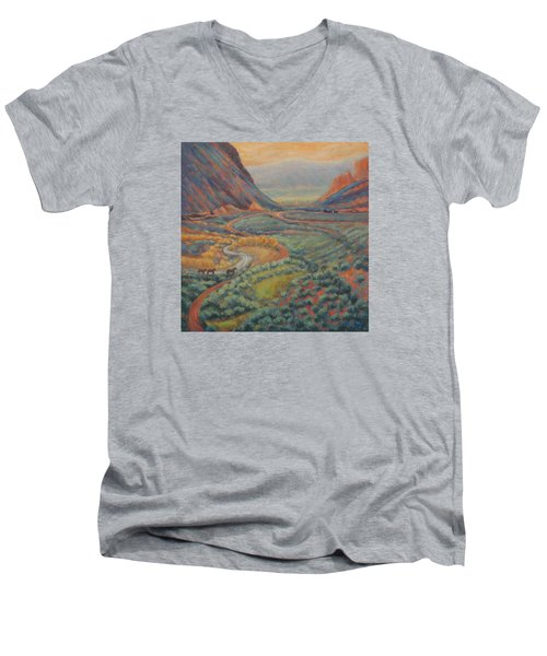 Valley Passage Men's V-Neck T-Shirt